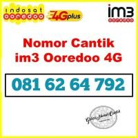 Nomer cantik Indosat kartu perdana im3 10 digit rapih pilihan 4G 4792