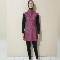 baju renang muslimah wanita dewasa dan remaja kerudung panjang 008