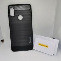 Case xiaomi Redmi Note 5 Pro Ipaky Carbon Case Silikon Sofcase Premium