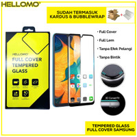 Tempered Glass 5D 9D Samsung M10 / M20 Anti Gores HP Full Cover