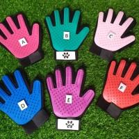 Grooming Gloves Pmbersih Bulu Anjing Kucing Magic Cleaning Brush Glove