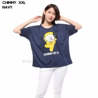 Baju Kaos Wanita Lengan Pendek Cewek BT21 BTS CHIMMY