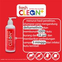 Shampo kutu kucing Fresh Clean Anti Kutu Tungau Caplak Pinjal