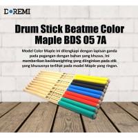 Drum Stick Beatme Color Maple BDS 05 7A - Stik Drum Maple Beatme