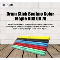 Drum Stick Beatme Color Maple BDS 06 7A - Stik Drum Maple Beatme