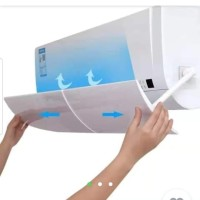 talang ac reflector Reflektor acrylic akrilik penahan angin air screen