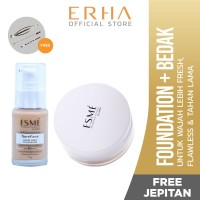 Erha VP Light Ivory Total Makeup + Free Jepitan - Foundation & Bedak