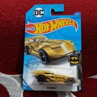 Hotwheels Batmobile Gold hot wheels Lot F 2020
