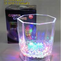 PROMO !!! Gelas Lampu LED LY 1219-1 (manual ON OFF)