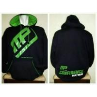 Jaket Hoodie Musclepharm Gym Suplemen Fitness Latihan Fitnes UFC MMA