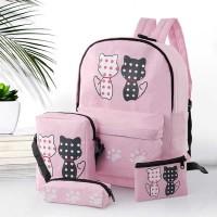 LPCGB tas sekolah ransel backpack anak perempuan cewek murah 4 in 1