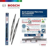WIPER MOBIL 1 SET ISI 2 ORIGINAL BOSCH ADVANTAGE ANTI KARAT TAHAN LAMA