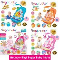 Bouncer Bayi Sugar Baby Infant Seat with Toy Bar 3 MOTIF TEMPAT DUDUK