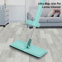 Alat Pel Lantai Tarik Hijau 1080-Ultra Mop Cleanze Green