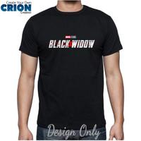 Kaos Black Widow - Black Widow Logo - By Crion