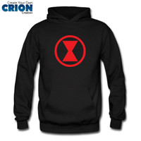 Jaket Sweater Hoodie Black Widow - Black Widow Logo - By Crion