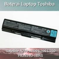 Baterai Laptop Toshiba Satellite A200 A300 L200 PA3534U-1BRS Original