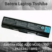 Baterai Laptop Toshiba A200 A300 M200 L300 PA3534U-1BRS