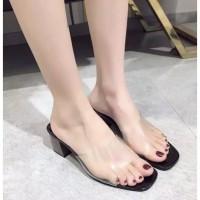 Sandal sendal wanita hak tahu big high heels mika ad 03