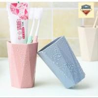 Bathroom Accessories Toothbrush Cup / Gelas Sikat Gigi Bahan Plastik
