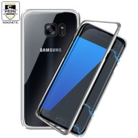 Case Magnet Samsung S7 Edge Case Magnetic Metal Casing Cover