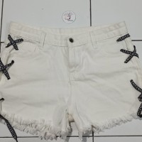 *Preloved* Hotpants Lace Celana Pendek Tali Keren