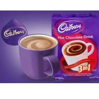 Cadbury Hot Chocolate drink 3 in 1 sachet 30 gr