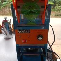 mesin Cup Sealer Eton ET D8 khusus gojek