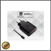 Diskon AUKEY USB Charger with Qualcomm Quick Charge 3.0 PA-T9