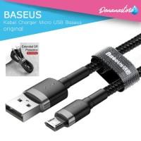 Kabel Charger Handphone HP Smartphone Micro USB Fast Baseus Original