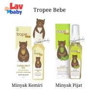 Tropee Bebe Kukui Minyak Kemiri Massage Minyak Pijit Bayi 70ml