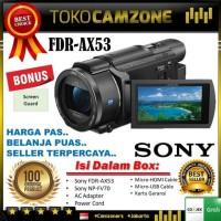 HOT SALE Sony FDR-AX53 4K Ultra HD Handycam Camcorder TERJAMIN