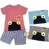 Setelan Baju Anak Bayi Cowok / Laki-Laki BBC Import ( 2 bln - 3 th )