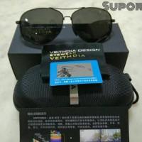Kacamata Aviator ORIGINAL Polarized kaca mata hitam Polaroid anti UV