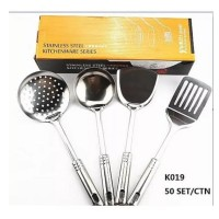 Kitchen Ware Set 4 In 1 Stainless - Spatula Alat Masak All In One