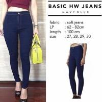 ForGirl HW Jeans / Highwaist Jeans (Bahan Good Quality) (r)