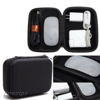 Lovoski Pouch Power Bank Storage Bag For Data Cable Mouse Travel