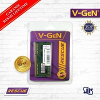 Memory RAM V-Gen Rescue Sodimm 8GB DDR3 PC12800 1600Mhz .