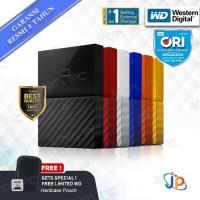 Hardisk Eksternal WD My Passport 2TB 2.5 USB 3.0 .