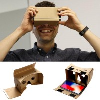 VR glasses 3D box fit for under 6 inch Cellphone