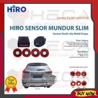 Special Edition Hiro Sensor Mundur Slim Gaya Mobil Eropa Parking