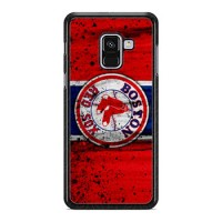 Hardcase Samsung Galaxy A8 2018 Boston Red Sox Grunge Baseball Clu