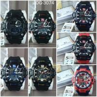 Jam tangan pria DIGITEC 3074 original water resist