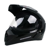 Cargloss Former Supermoto Helm Full Face - Deep Black