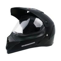 Cargloss Former Supermoto Helm Full Face - Deep Black SG DOFF