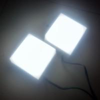 2 Unit Lampu LED Mini Studio Tanpa Kaki - Normal dan Terang