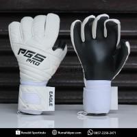 pgs pro eagle series white - sarung tangan kiper goalkeeper glove