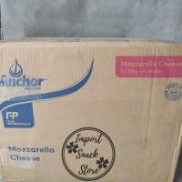 Keju Mozarella Anchor/Mozarella Cheese Anchor 10kg Khusus GOJEK & GRAB