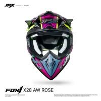 JPX Cross Full Face X28 AW Rose - Black doff