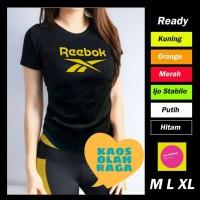 atasan jersey Baju Kaos Fitnes Lari Gym Olahraga SENAM WANITA Ladies 8